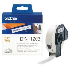Brother DK11203 label til arkivmapper